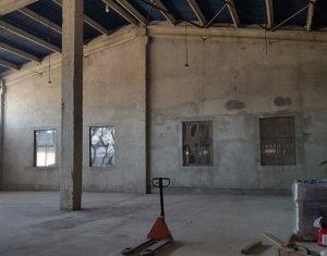 Spatiu pentru depozitare-productie la rampa, acces TIR, zona industriala Baciu