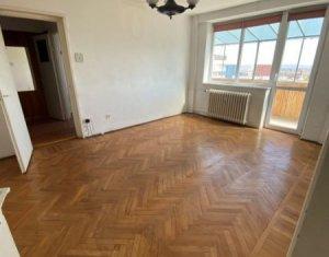 Apartament 2 camere, semidecomandat, 42 mp, balcon 9 mp, Gheorgheni