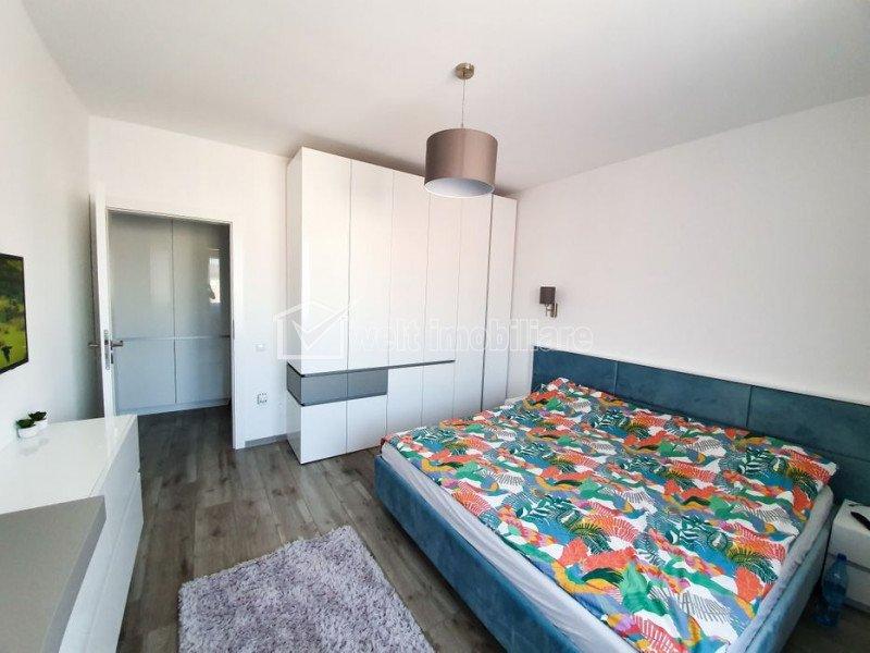 Apartament Floresti, mobilat, utilat modern, 58 mp, cu parcare