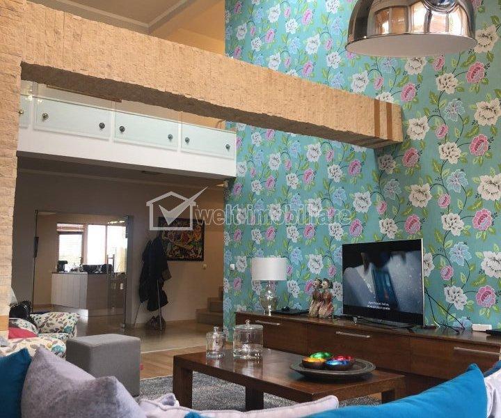 Top! Penthouse exclusivist, modern, 2 terase, 180 mp, Gheorgheni