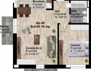 Vanzare apartament 2 camere 54 mp, zona IRA, Someseni