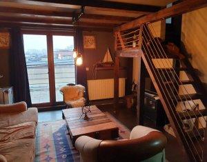 Apartament 3 camere, mansarda, terasa, Studium Green