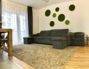 Apartament 3 camere, 80 mp, finisat, mobilat modern, Buna Ziua