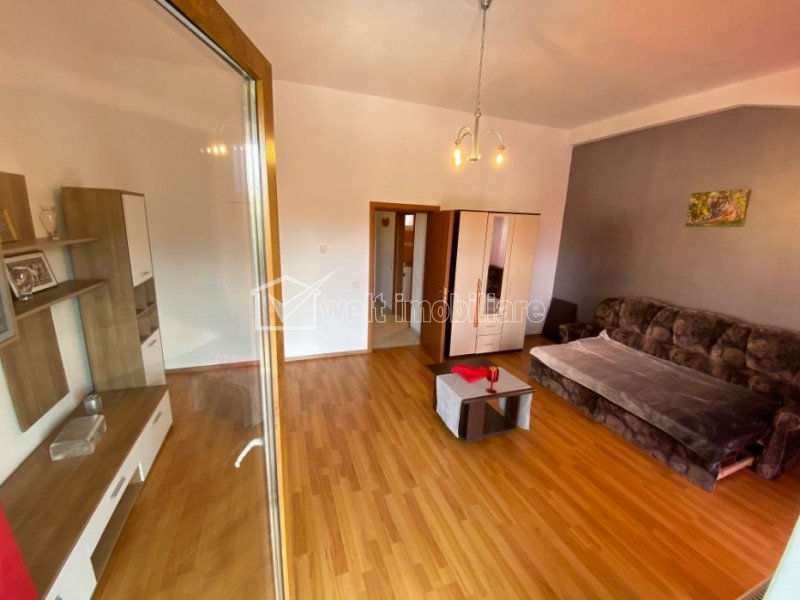 Apartament 1 camera, 42 mp, balcon 9 mp, etaj 2 din 3 Centru