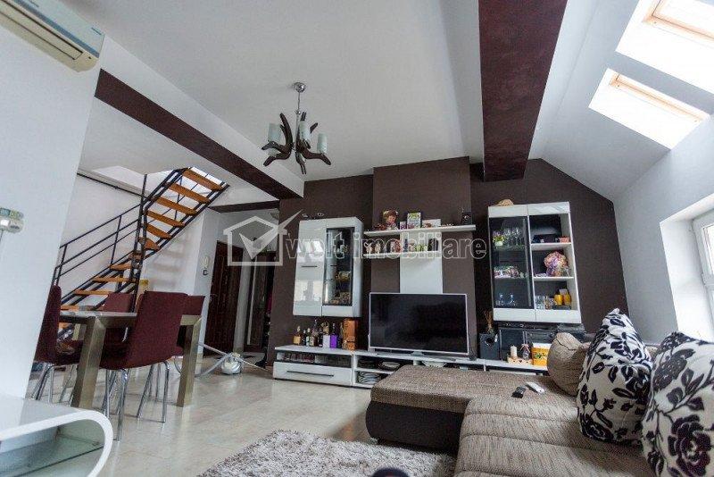 Apartament cu 4 camere pe 2 nivele, finisat modern, zona Horea