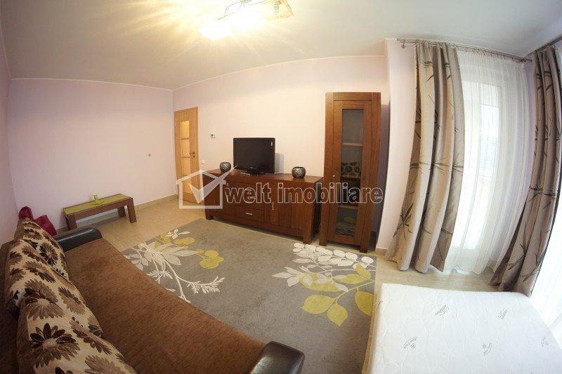 Inchiriere Apartament cu 1 camera, intr-un imobil nou, zona centrala, NTT Data