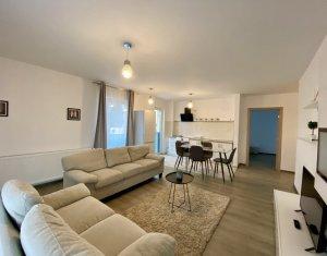 Inchiriere Apartament 3 camere, garaj, imobil nou, Dambul Rotund, zona Lidl