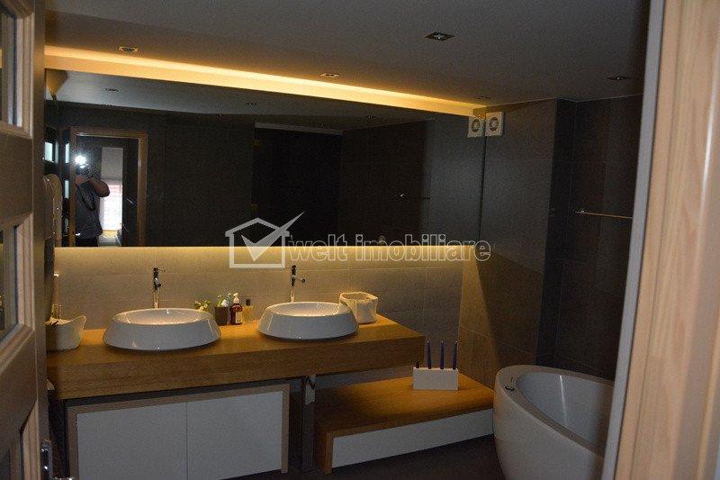 Apartament ultrafinisat pe 2 niveluri, zona Manastur,150mp