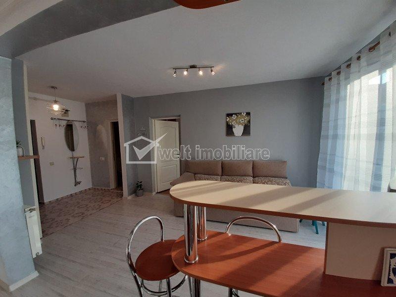 Apartament 2 camere, finisat si mobilat modern, zona Negoiu, Manastur