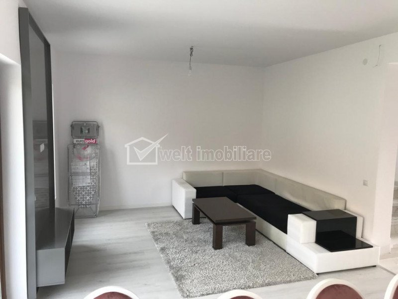 Inchiriere apartament 3 camere, mobilat si utilat, parcare, Someseni