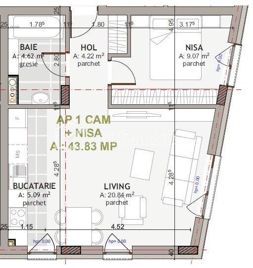 PROMO ! Apartamente 2 camere, zona centrala, finisate lux si mobila lemn masiv