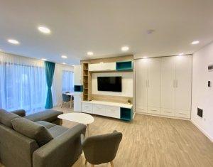 Apartament de lux cu 2 camere, imobil deosebit, garaj subteran, zona Plopilor