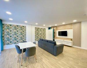 Apartament 2 camere, LUX, garaj subteran, imobil deosebit, zona Plopilor