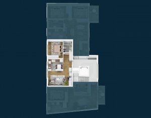 CENTRU - Vanzare apartament 2 camere, bloc nou, zona Facultatii de Drept
