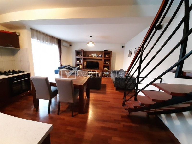 Apartament Penthouse 5 camere 120 mp, zona Restaurant Roata Manastur