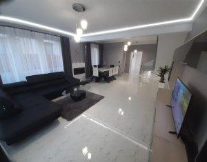 Casa tip duplex finisata, mobilata si utilata, lux, la cheie, Dambul Rotund