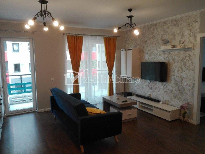 Apartament de 2 camere, 53 mp, terasa, 14 mp, parcare, modern si practic
