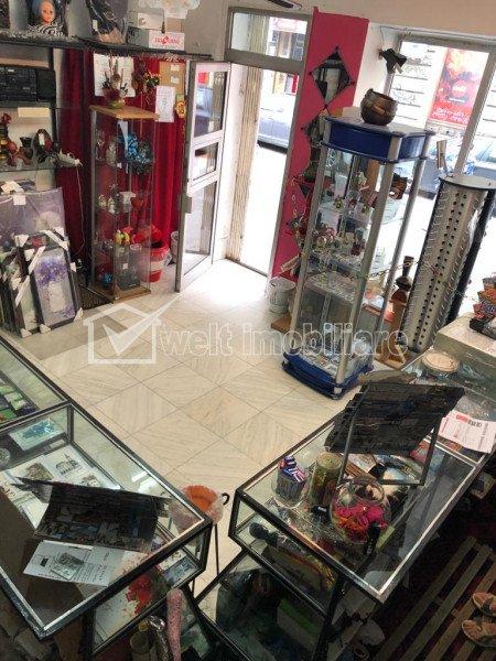 Inchiriere spatiu 35mp vad comercial intens in centrul Cluj