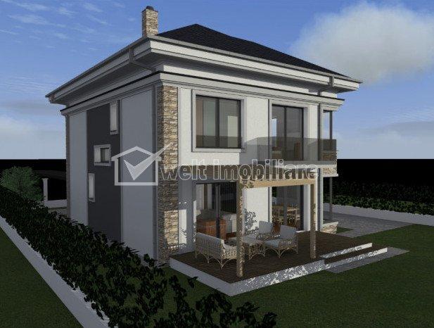 Vanzare casa noua in Someseni, 160 mp, P+E+M, teren 550 mp