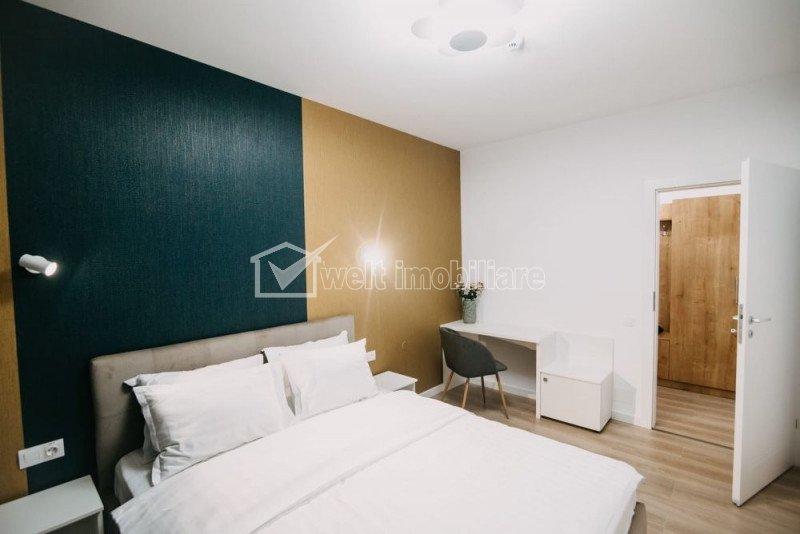 Apartament cu 2 camere, 55 mp, zona Borhanci, mobilat LUX cu loc de parcare