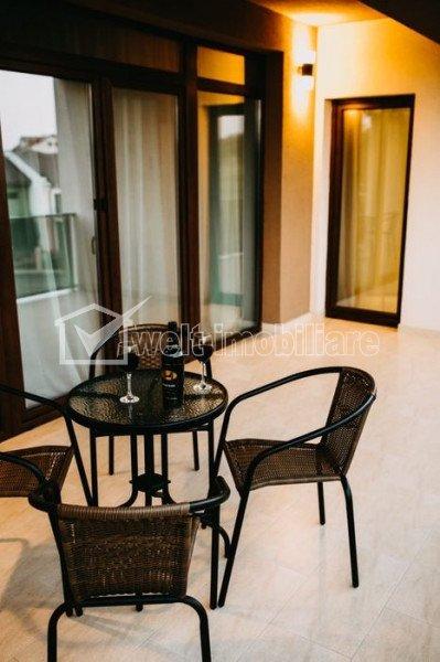 Inchiriere apartament lux, 2 camere, parcare, terasa, 65 mp, zona Borhanci