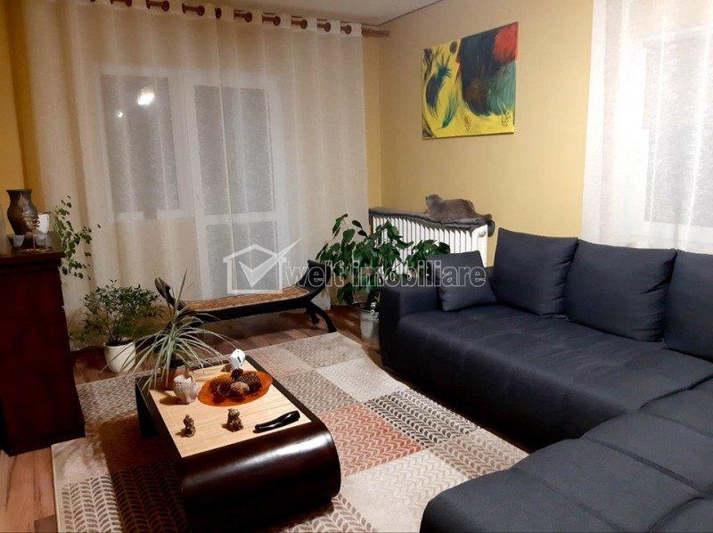 Apartament 4 camere 82 mp + 25mp balcon, Panorama, zona Manastur