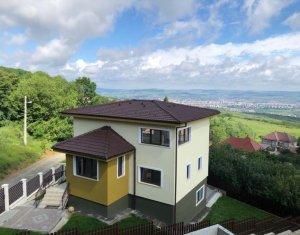 Casa noua in Feleacu la cateva minute de Cluj Napoca-priveliste superba