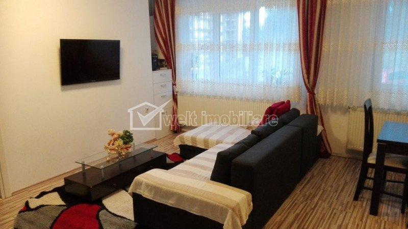 Apartament 3 camere, 62 mp, parter inalt, in Manastur