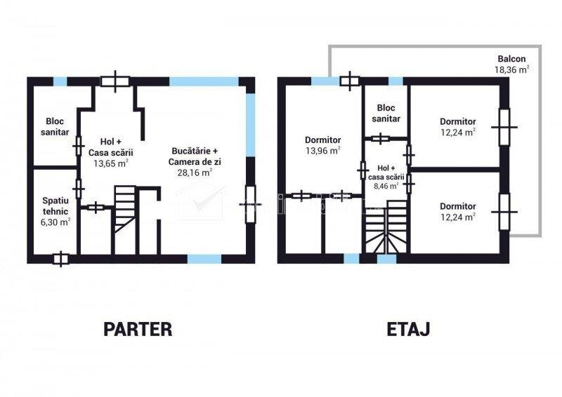 Duplex finisat in Dezmir, 133 mp utili, 273 mp teren