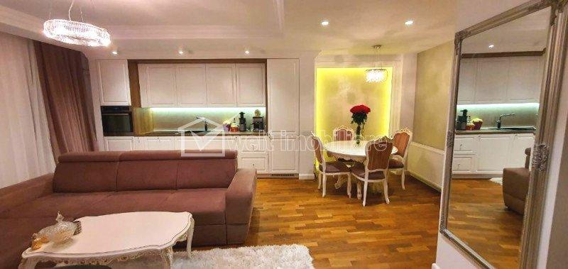 Apartament de LUX, 2 camere, 56 mp, terasa 10 mp, etaj 3 din 9, Buna Ziua