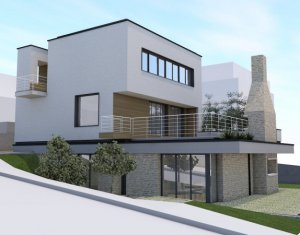 Apartament spatios 120 mp, in casa tip vila la 2 km de Auchan Iris, curte 200 mp