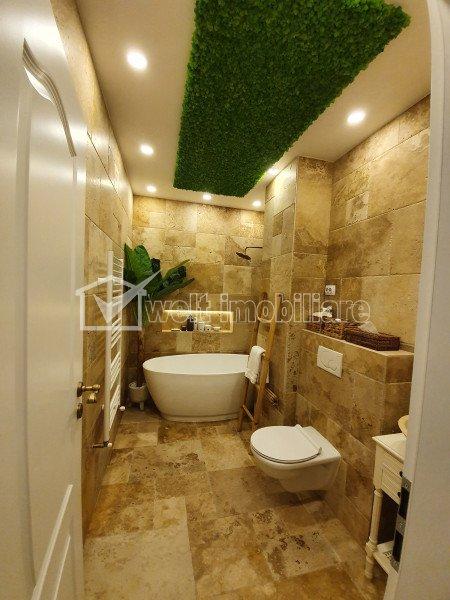 Apartament de LUX 2 camere decomandat, 58 mp, terasă 8 mp, Centru, NTT
