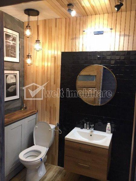Apartament 1 camera, 36mp, finisat, mobilat de lux, la cheie, Calea Turzii