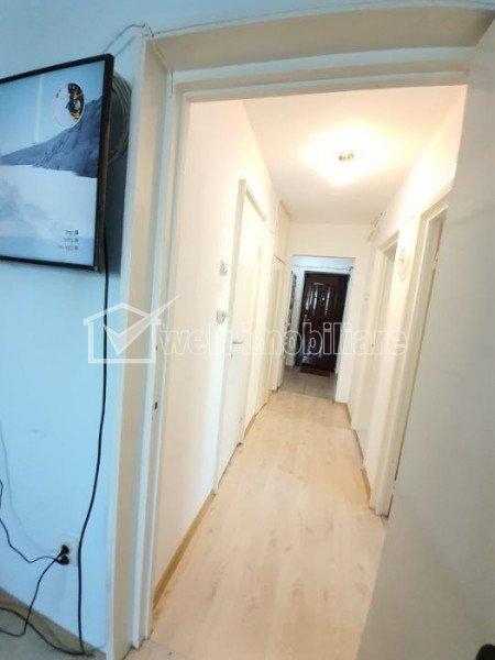 Apartament 2 camere, decomandat, 40 mp, balcon, etaj 6 din 10, S-E, in Manastur