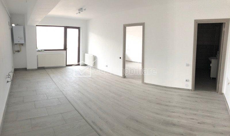 Apartament 2 camere, finisat, etaj 2/3, zona Terra