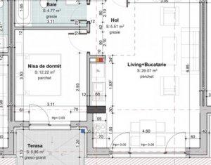 Vanzare apartament 2 camere, bloc nou, zona Cipariu