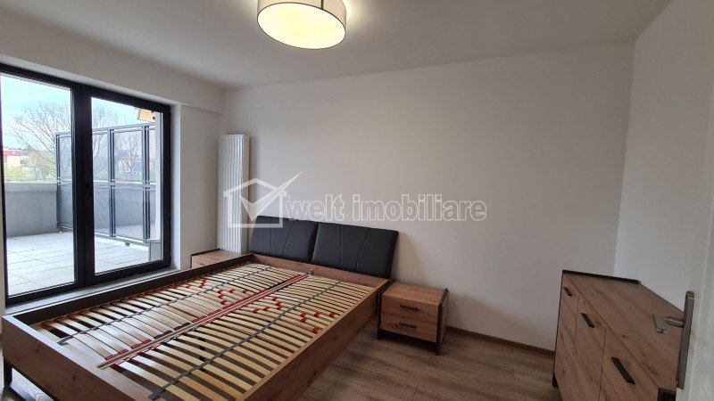 Apartament 2 camere, 63 mp, terasa 35 mp, parcare subterana, etaj 2 din 8, Sopor