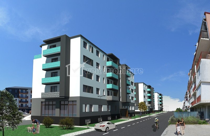 Apartament 2 camere cu terasa generoasa 31mp, zona centrala