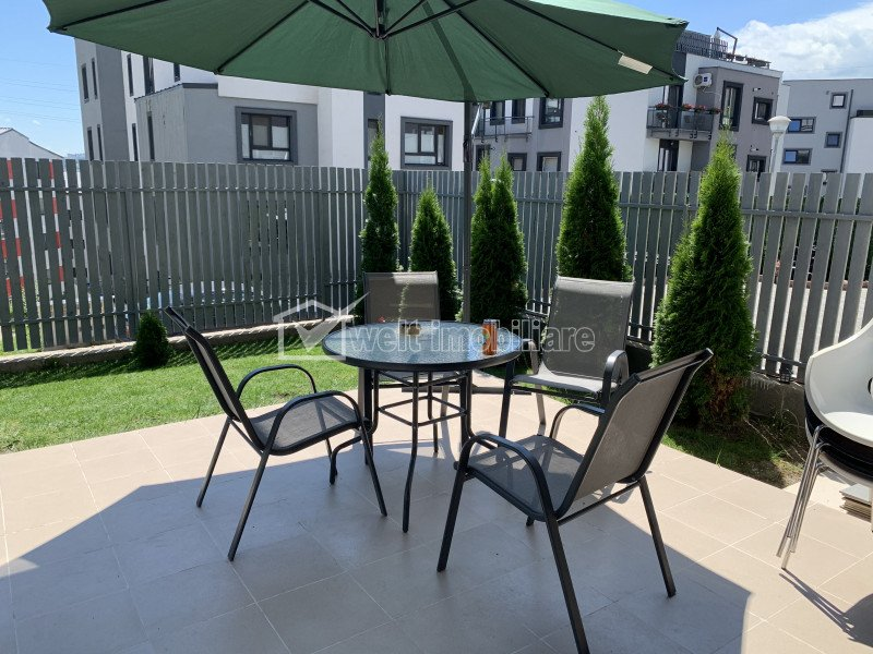Vanzare apartament superb, Donat Park, 47 mp, gradina cu cf de 80 mp, parcare