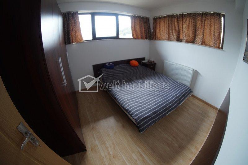 Apartament 2 camere spatios semidecomandat, zona Campului