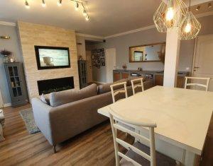 Apartament 3 camere, cu gradina, ultrafinisat, Floresti, zona Eroilor