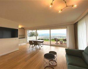 Vanzare imobil de top, Gruia, impartit in 3 apartamente de lux, panorama 360