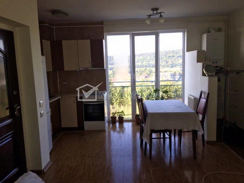 Apartament 1 camera, 32 mp, decomandat, finisat, Dambu Rotund