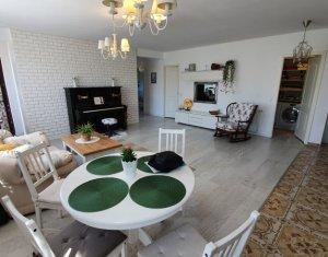 Apartament 3 camere, ultrafinisat cu gradina, Floresti, zona Eroilor