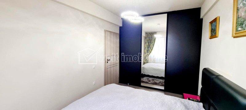 2 camere, 52 mp, balcon, etaj 2 din 3, Sud, parcare subterana, Floresti, Poligon