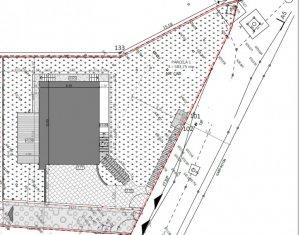 Vanzare teren cu autorizatie pentru casa individuala, Faget, 590 mp, utilitati