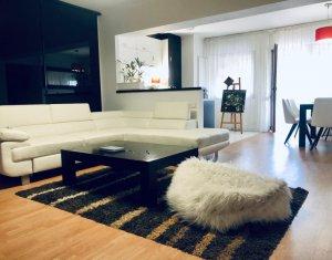 Bloc nou, apartament 3 camere, decomandat, 87 mp, mobilat, utilat
