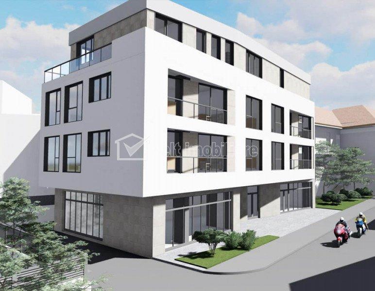Spatiu comercial 98mp zona USAMV-Platinia proiect nou