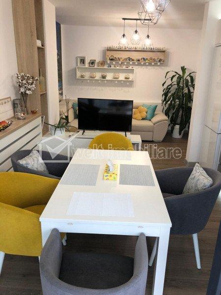 Apartament cu 3 camere, zona Parc Cartodrom, mobilat lux, parcare subterana