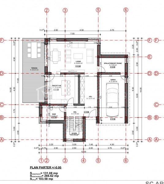 Teren cu autorizatie casa individuala, Faget, 934 mp, la liziera padurii